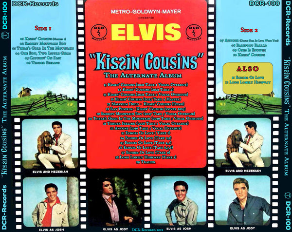 Kissin´ Cousins - The Alternate Album CD