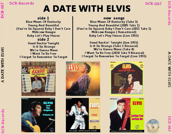 A Date With Elvis - The Alternate Album CD