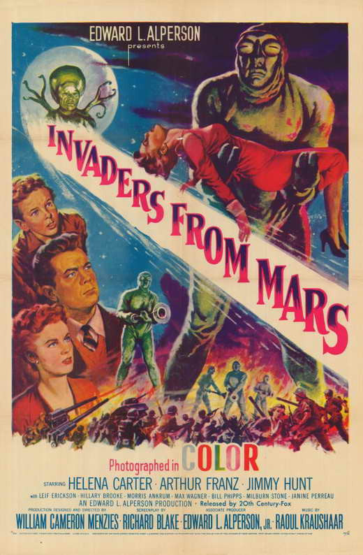 Invaders From Mars (1953)  DVD