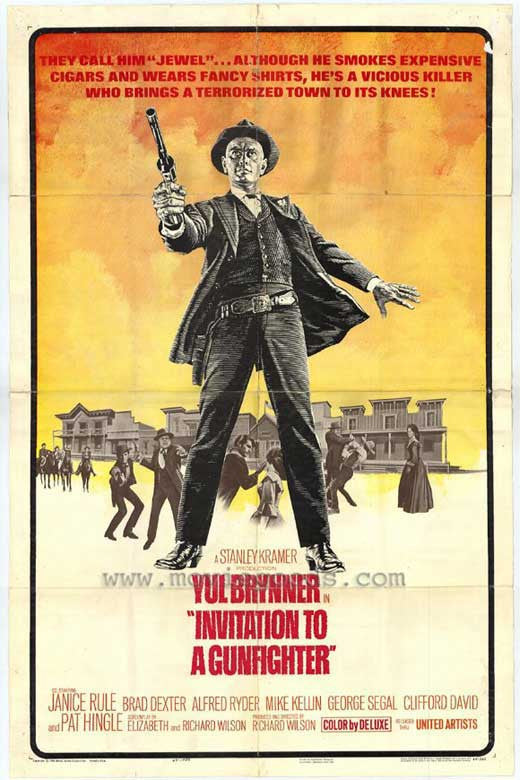 Invitation To A Gunfighter (1964) - Yul Brynner  DVD