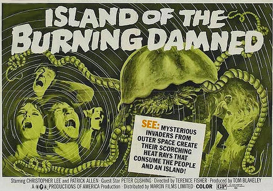 Island Of The Burning Damned (1967) - Christopher Lee  DVD