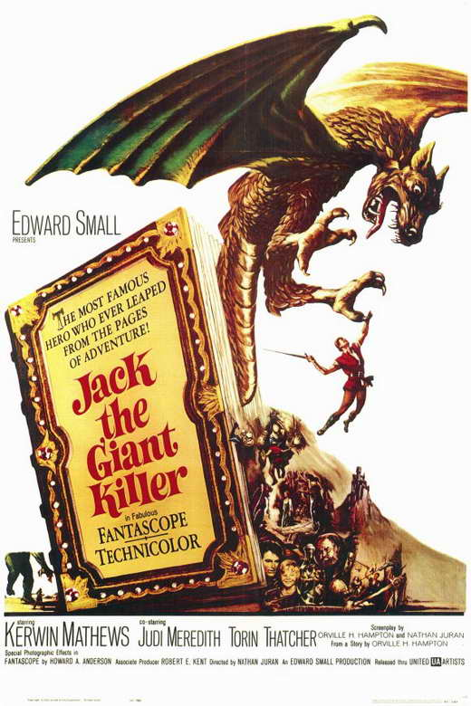 Jack The Giant Killer (1962) - Kerwin Mathews  DVD