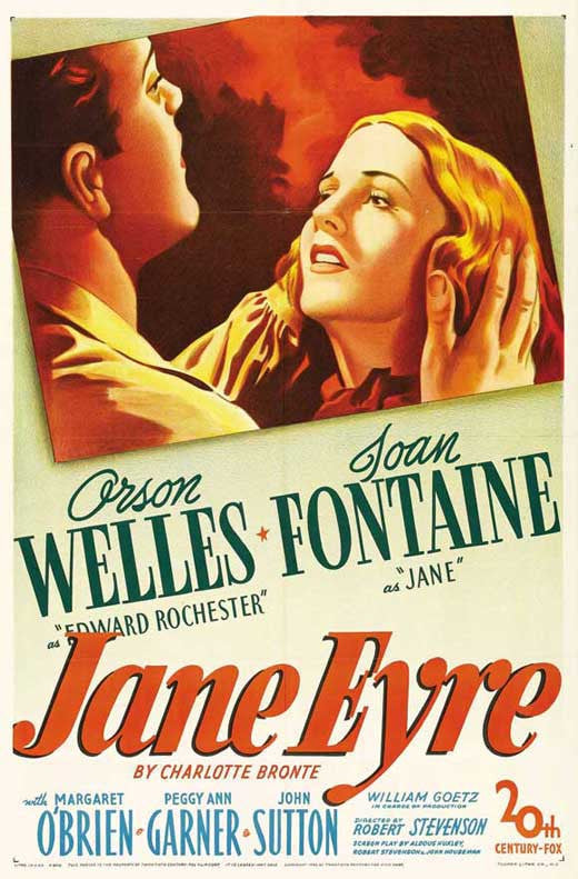 Jane Eyre (1944) - Orson Welles DVD codefree