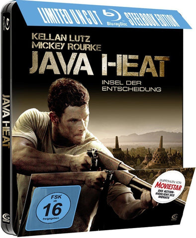 Java Heat (2013) - Kellen Lutz Limited STEELBOOK Edition. Blu-ray