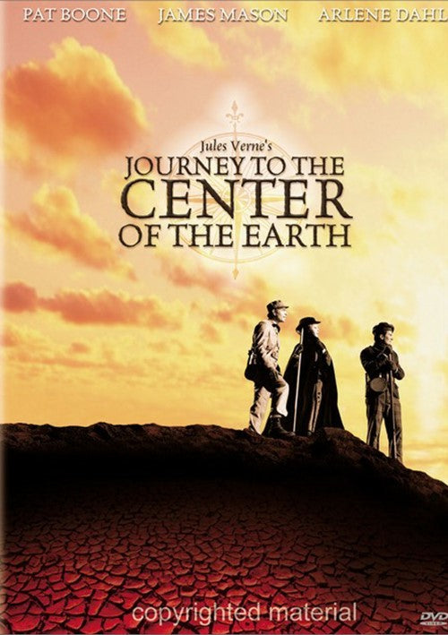 Journey To The Center Of The Earth (1959) - Pat Boone  DVD
