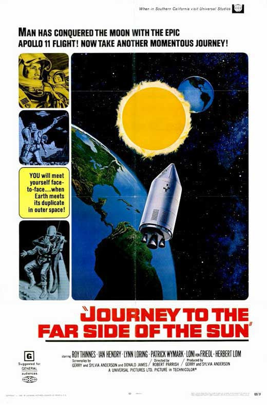Journey To The Far Side Of The Sun (1969) - Roy Thinnes  DVD