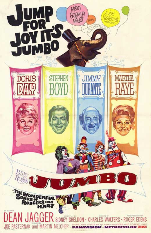 Billy Rose´s Jumbo (1962) - Doris Day  DVD