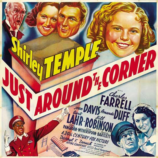 Just Around The Corner (1938) - Shirley Temple Color Version DVD