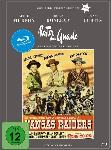 Kansas Raiders (1950) - Audie Murphy  Blu-ray