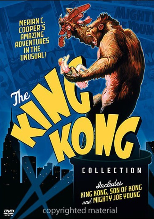 King Kong Collection - Merian C. Cooper   3 DVD Set
