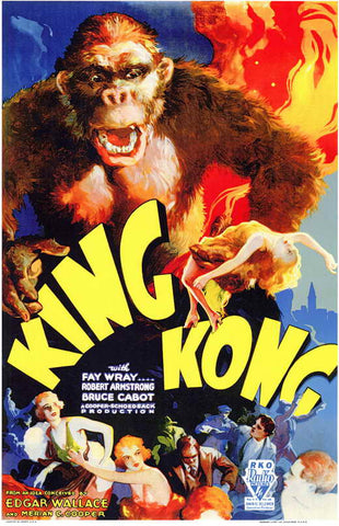 King Kong (1933) - Robert Armstrong DVD Colorized Version