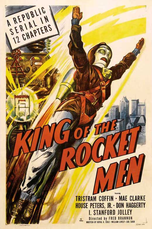 King Of The Rocket Men (1949) : The Complete Serial - 2 DVD Set