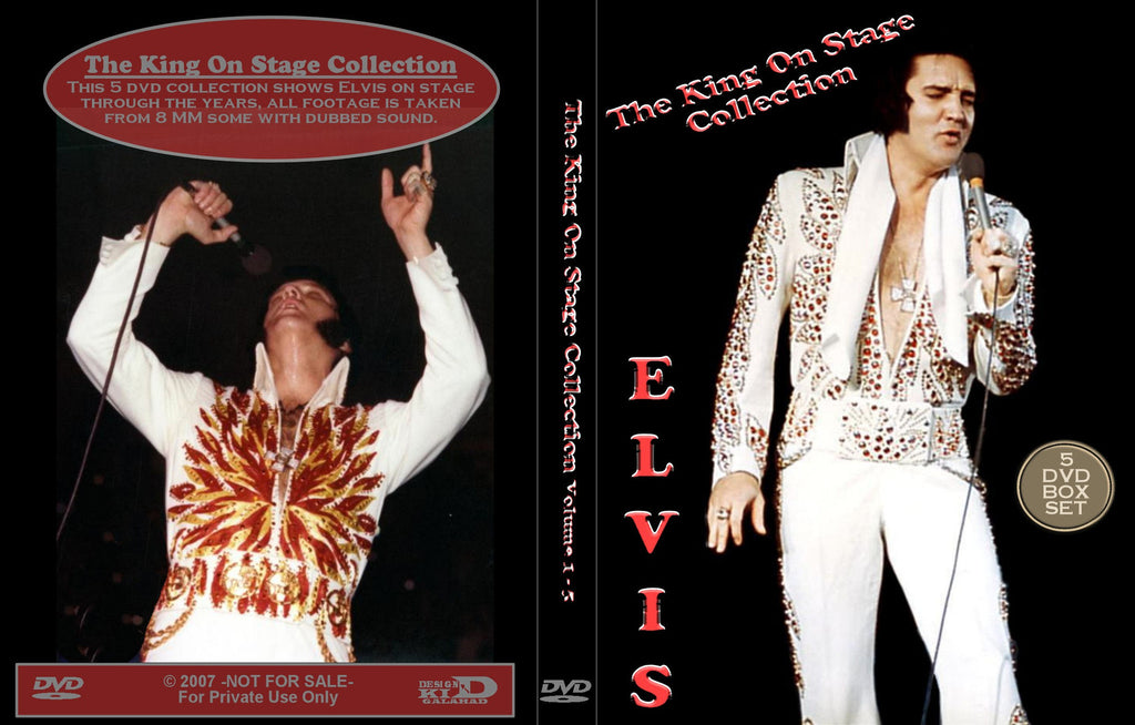 Elvis - The King On Stage - 5 DVD Set