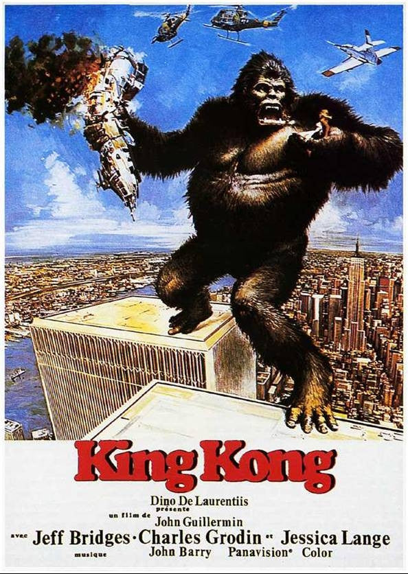 King Kong (1976) - Jeff Bridges  DVD