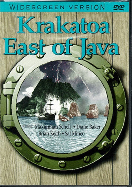 Krakatoa - East Of Java (1968) - Maxilmilian Schell  DVD