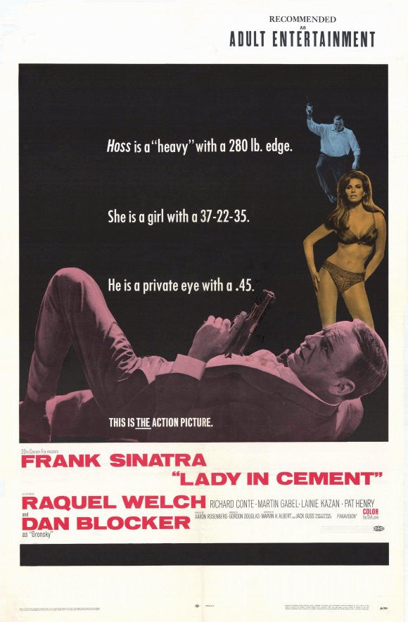 Lady In Cement (1968) - Frank Sinatra  DVD