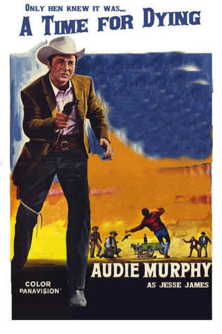 A Time For Dying (1969) - Audie Murphy  DVD