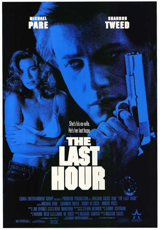 The Last Hour AKA Concrete War (1991) - Michael Pare  DVD
