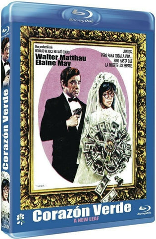 A New Leaf (1971) - Walter Matthau  Blu-ray  codefree