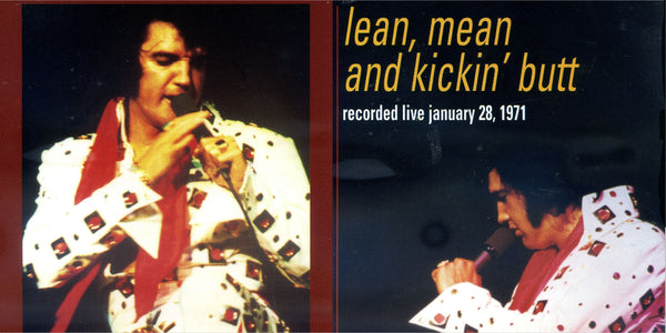 Lean, Mean And Kickin´ Butt - Live In Concert 1971  CD
