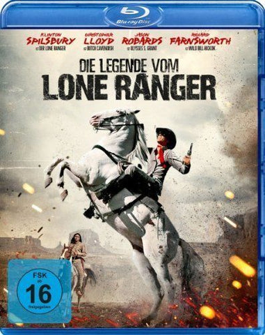 The Legend Of The Lone Ranger (1981) - Christopher Lloyd  Blu-ray