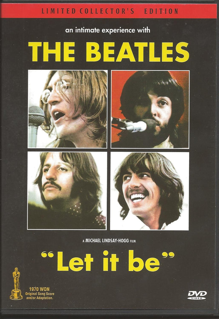 The Beatles : Let It Be (1970) - Collector´s Edition DVD