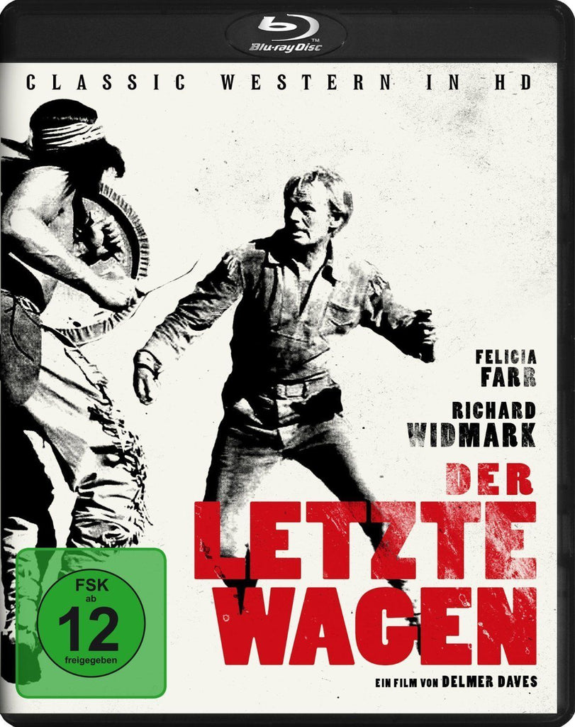The Last Wagon (1956) - Richard Widmark  Blu-ray
