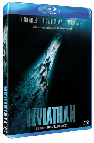 Leviathan (1989) - Peter Weller  Blu-ray  codefree