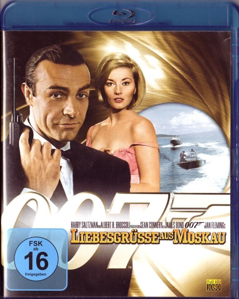 James Bond 007 : From Russia With Love (1963) - Sean Connery  Blu-ray