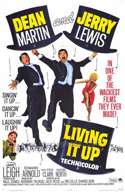 Living It Up (1954)  DVD