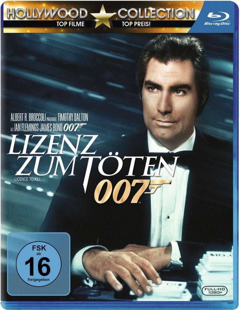 James Bond 007 : Licence To Kill (1989) - Timothy Dalton  Blu-ray