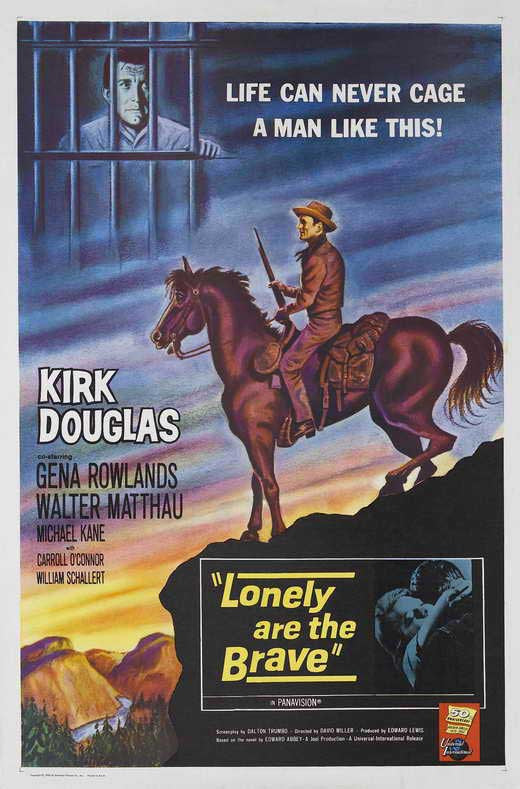 Lonely Are The Brave (1962) - Kirk Douglas  DVD