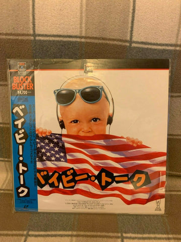 Look Who´s Talking (1989) - John Travolta  Japan LD Laserdisc Set with OBI