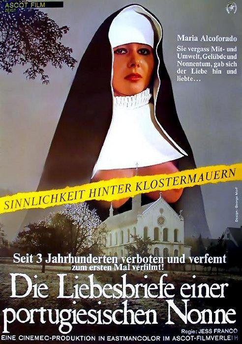 Love Letters Of A Portuguese Nun (1977) - Jess Franco  DVD