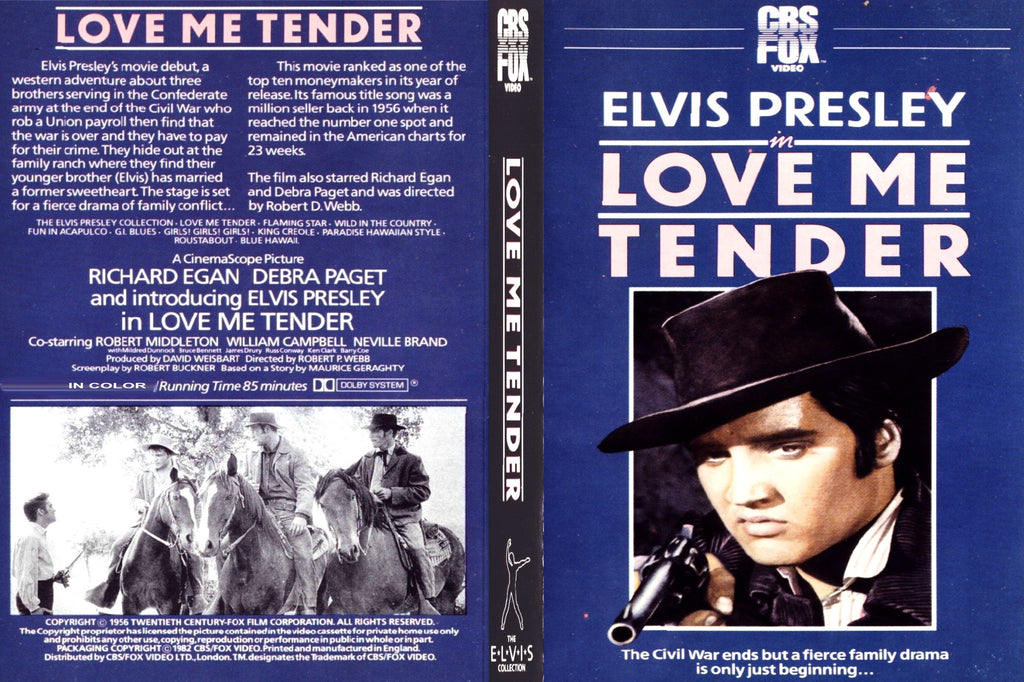 Love Me Tender (1956) - Color Version