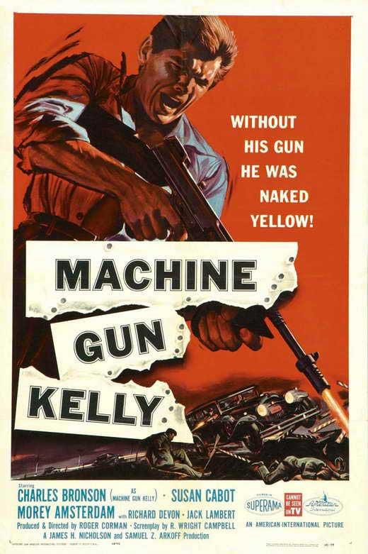 Machine Gun Kelly (1958) - Charles Bronson  DVD
