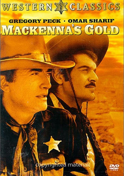 Mackenna´s Gold (1969) - Gregory Peck  DVD
