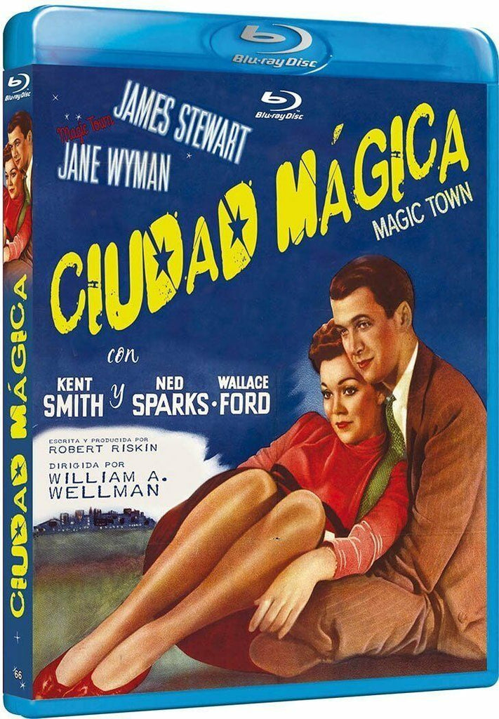 Magic Town (1947) - James Stewart  Blu-ray
