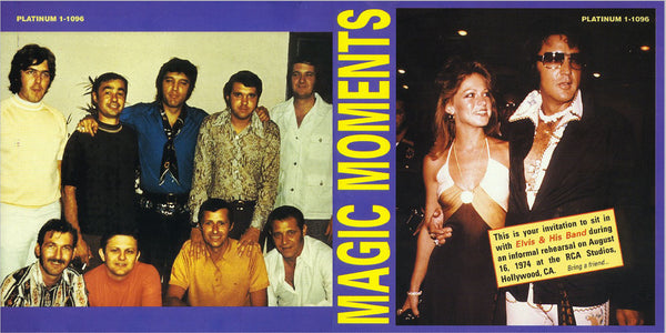 Magic Moments - Rehearsals 1974  CD