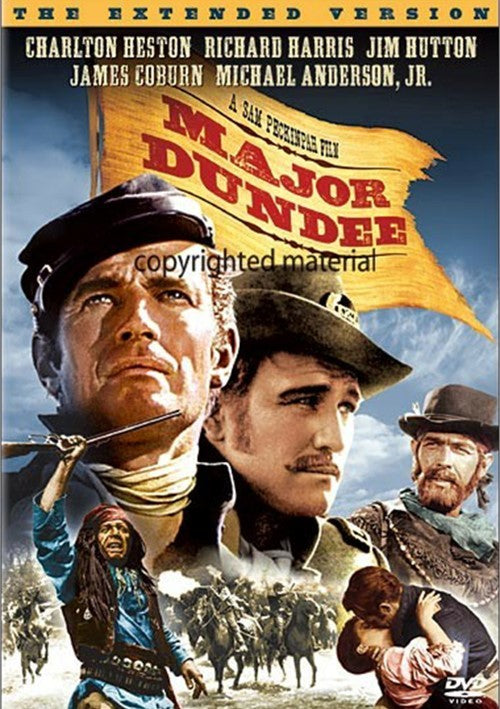 Major Dundee : Extended Cut (1964) - Sam Peckinpah  DVD
