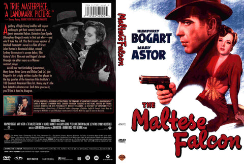 The Maltese Falcon (1941) - Color Version DVD