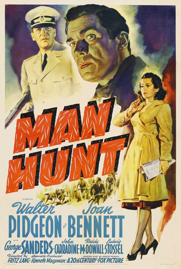 Man Hunt (1941) - Joan Bennett  DVD