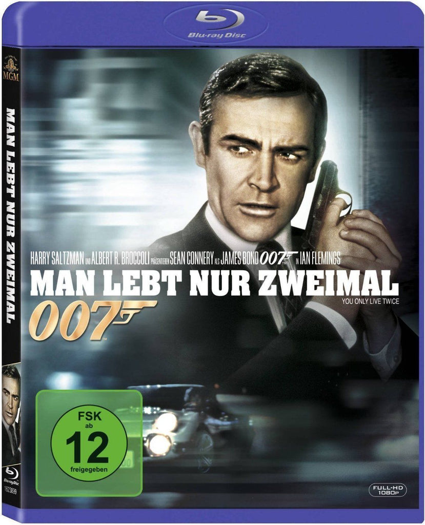 James Bond 007 : You Only Live Twice (1967) - Sean Connery  Blu-ray