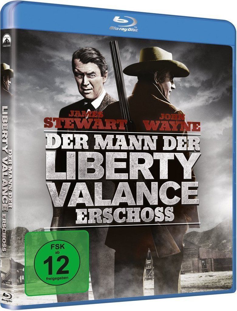 The Man Who Shot Liberty Valance (1962) - John Wayne Blu-ray