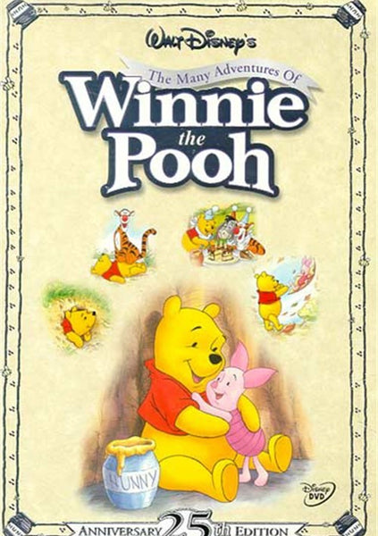 The Many Adventures Of Winnie The Pooh (1968)  DVD