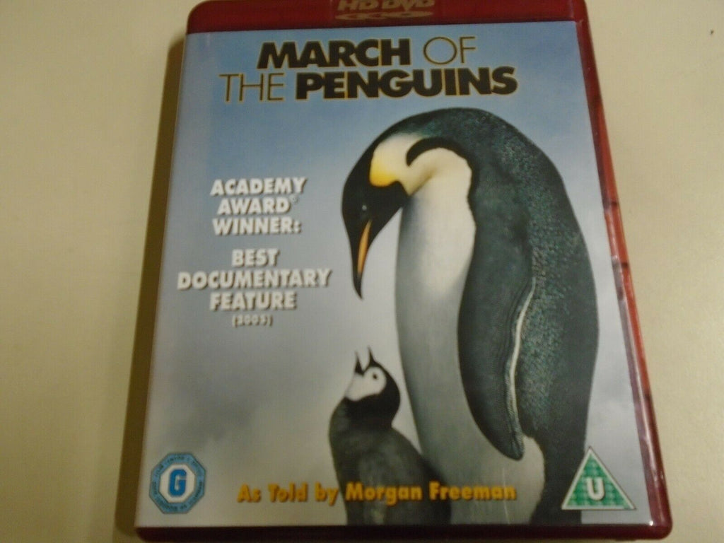 March Of The Penguins (2005) - Morgan Freeman  HD DVD
