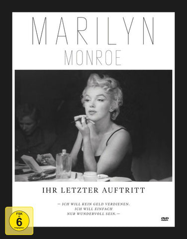 Marilyn Monroe : Her Last Appearance DVD + Picture Book