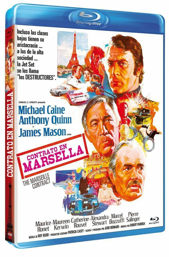 The Marseille Contract (1974) - Michael Caine  Blu-ray