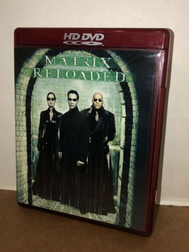 Matrix Reloaded (2003) - Keanu Reeves  HD DVD