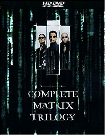 Complete Matrix Trilogy - Keanu Reeves 3x HD DVD Box Set